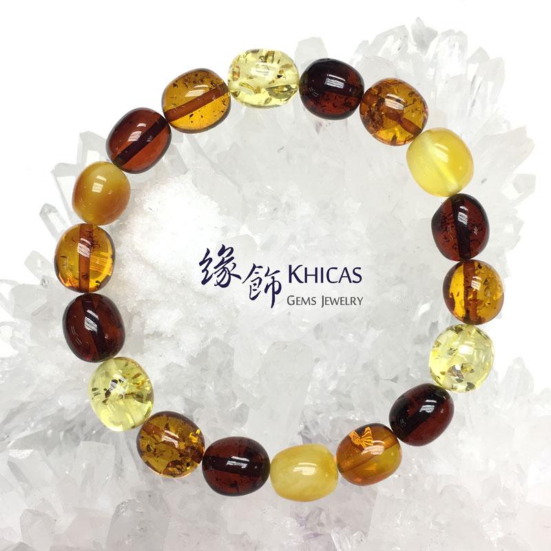波羅的海琥珀多寶手串 11x10mm Amber Bracelets KH142774 @ Khicas Gems 緣飾天然水晶