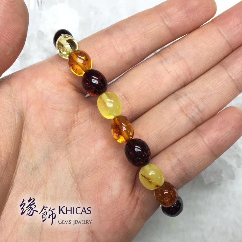 波羅的海琥珀多寶手串 10x8mm Amber Bracelets KH142775 @ Khicas Gems 緣飾天然水晶
