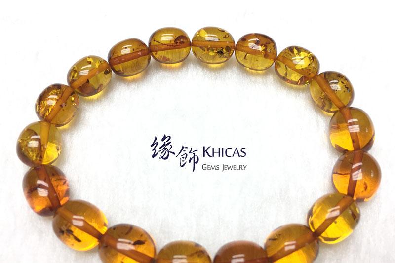 波羅的海花珀手串 11x10mm Amber Bracelets KH142776 @ Khicas Gems 緣飾天然水晶