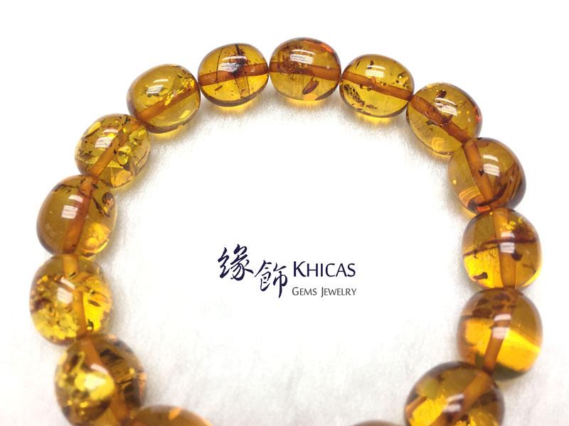 波羅的海花珀手串 13x11mm Amber Bracelets KH142777 @ Khicas Gems 緣飾天然水晶