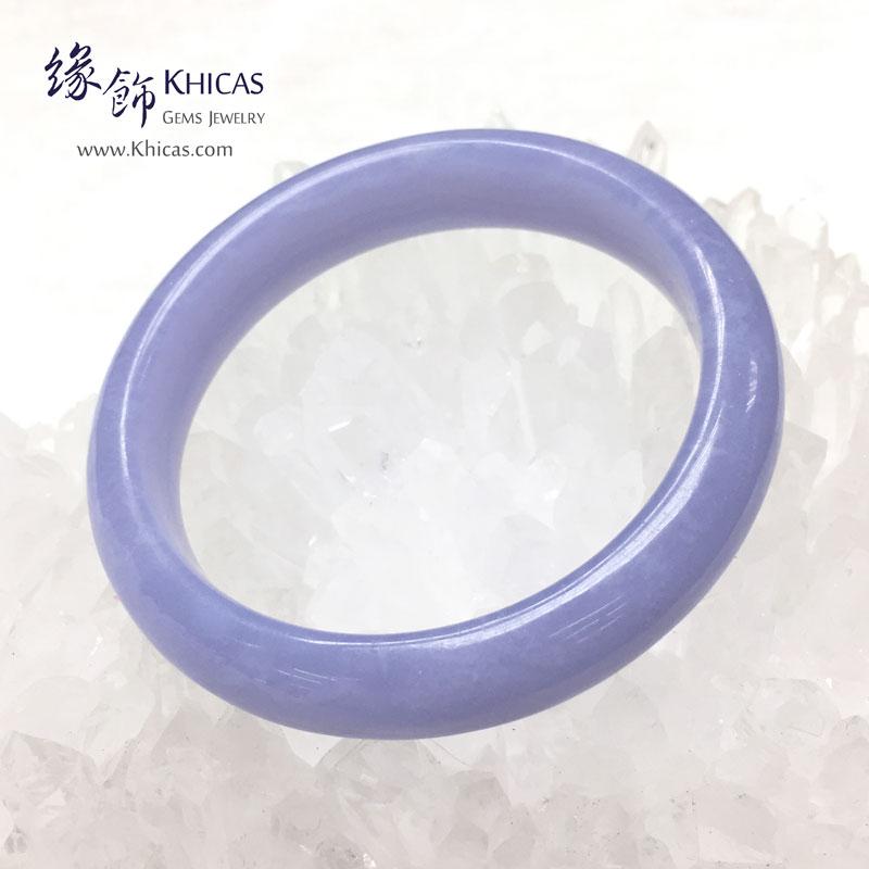 巴西 4A+ 藍紋瑪瑙手鐲 Blue Lace Agate KH142865 @ Khicas Gems 緣飾