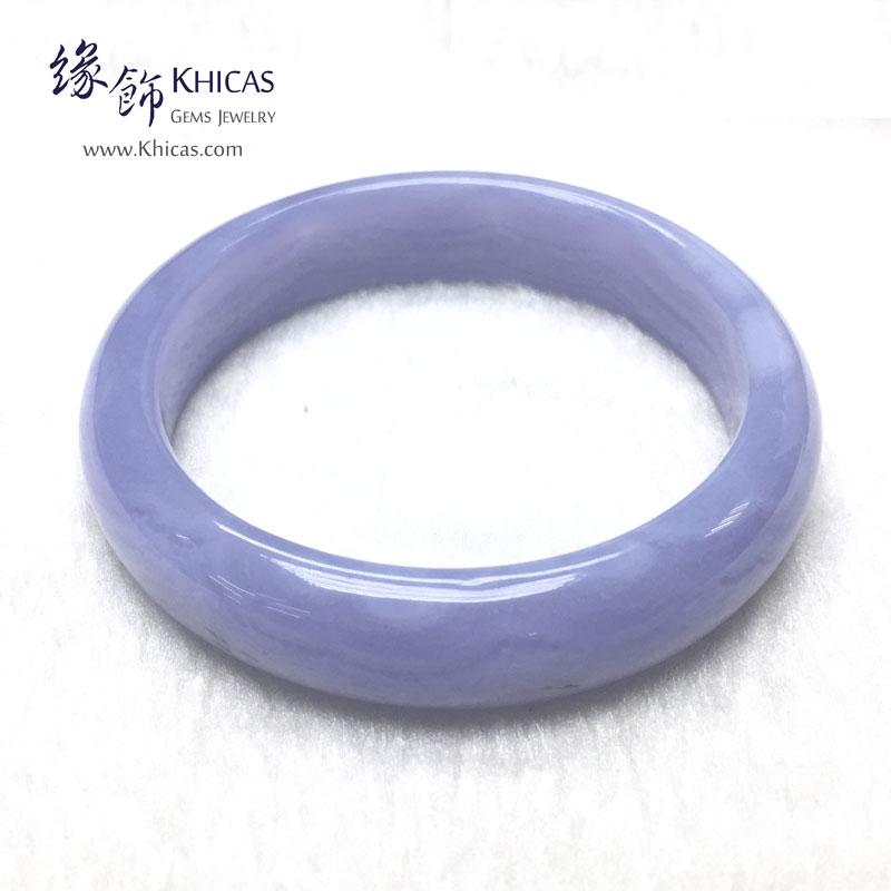 巴西 4A+ 藍紋瑪瑙手鐲 Blue Lace Agate KH142866 @ Khicas Gems 緣飾