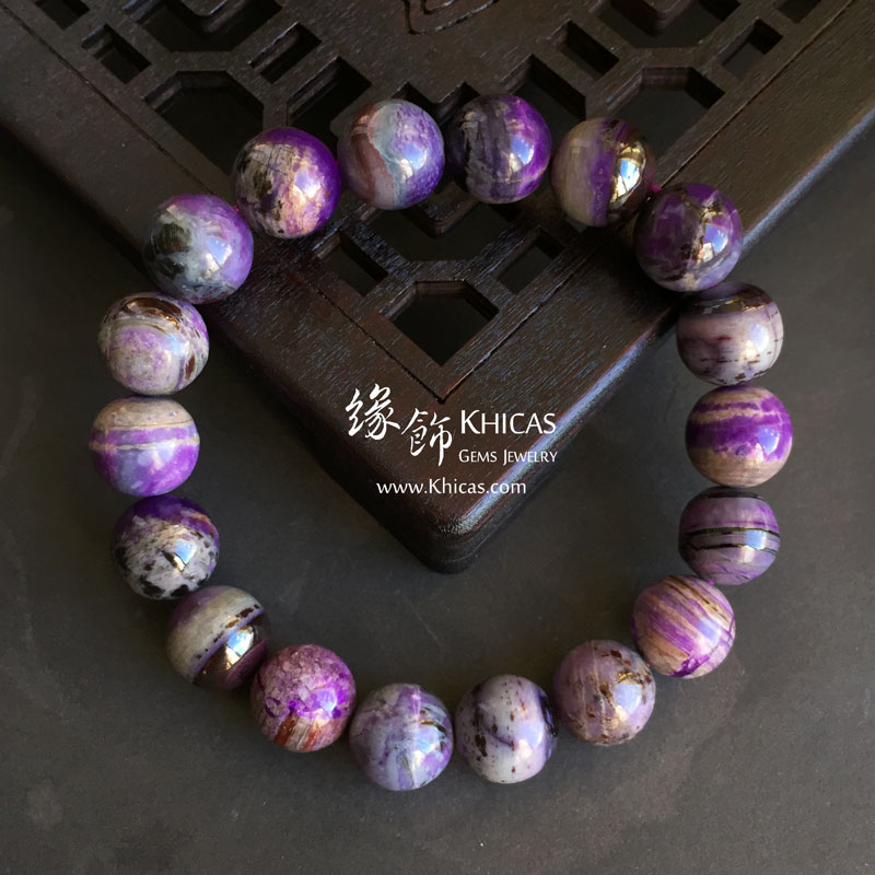 南非 A+ 舒俱徠手串 11mm Sugilite KH142886 @ Khicas Gems 緣飾