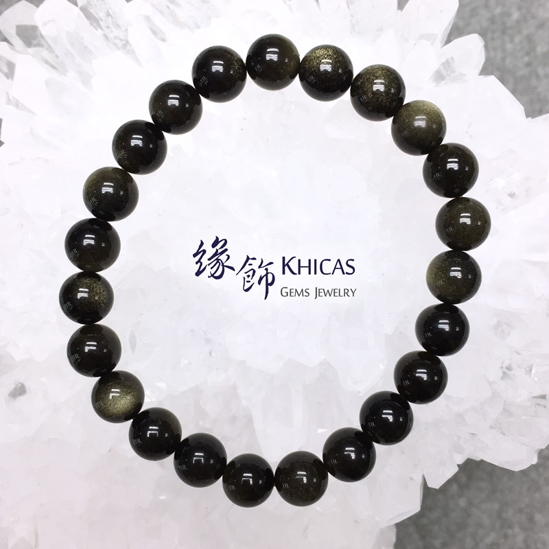 墨西哥金曜石手串 8mm KH142944 @ Khicas Gems 緣飾