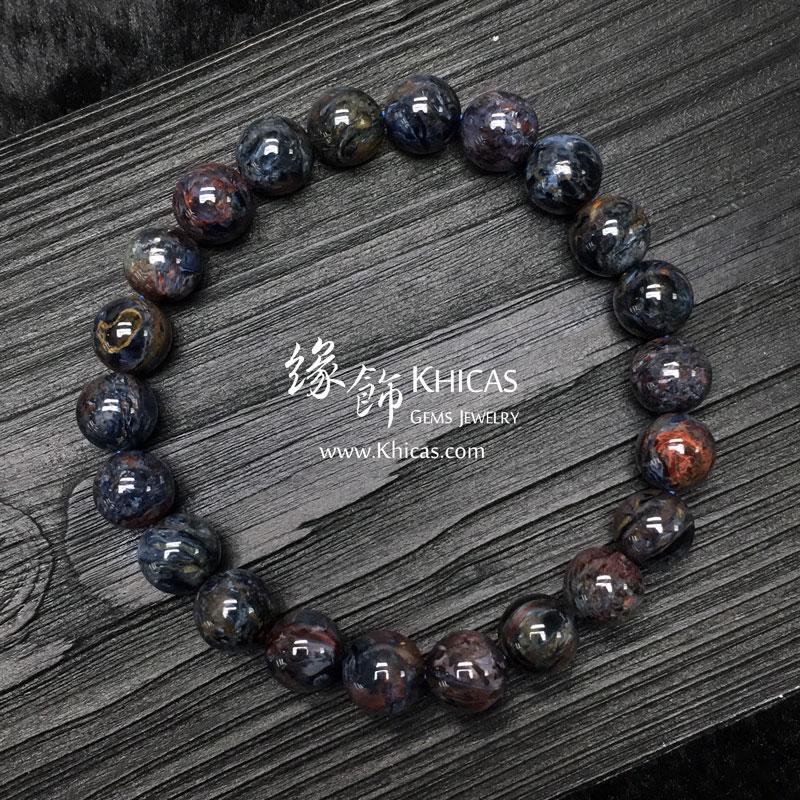 納米比亞 5A+ 藍色彼得石手串 9mm Pietersite KH142977 @ Khicas Gems 緣飾