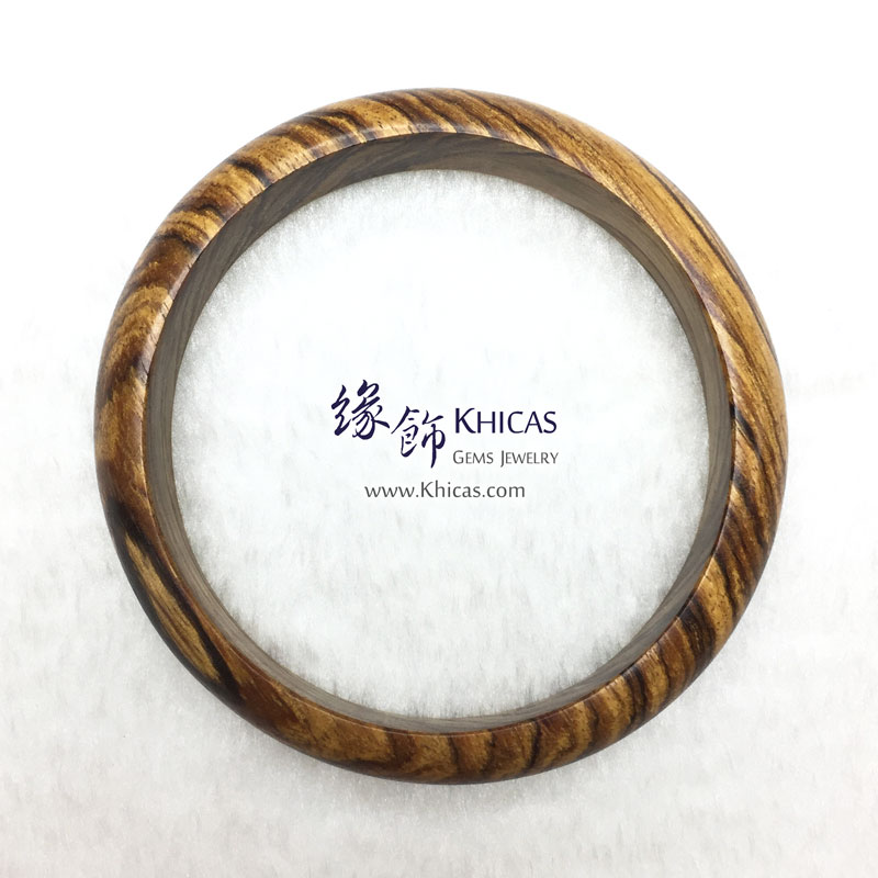 馬來西亞沉香木手鐲(內徑 ⌀65mm / 1.7) Malaysian Agilawood Bangle KH143003 @ Khicas Gems 緣飾