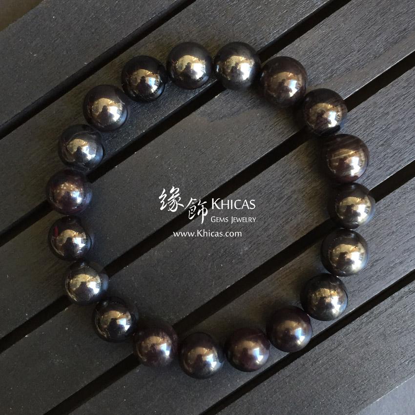 南非鐵舒俱徠手串 10.5mm Iron Sugilite KH143086 @ Khicas Gems 緣飾