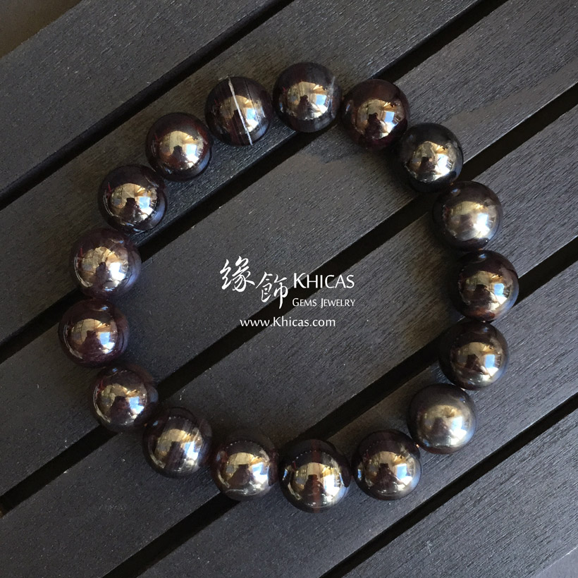 南非鐵舒俱徠手串 11.5mm Iron Sugilite KH143089 @ Khicas Gems Jewelry 緣飾天然水晶