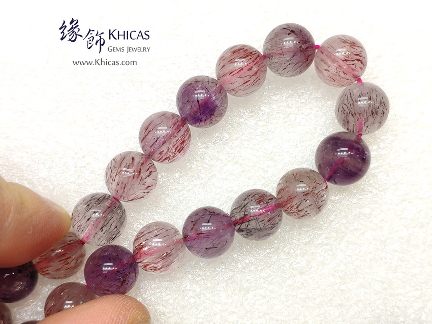2A+ 巴西 Super Seven / Super7 / 超級七 / 三輪骨幹手串 10mm KH143123 @ Khicas Gems Jewelry 緣飾天然水晶
