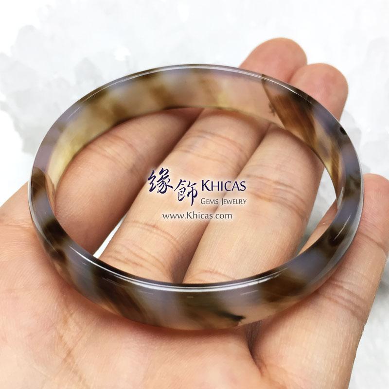 波斯灣瑪瑙手鐲 11x4mm Botswana Agate KH143160 @ Khicas Gems 緣飾