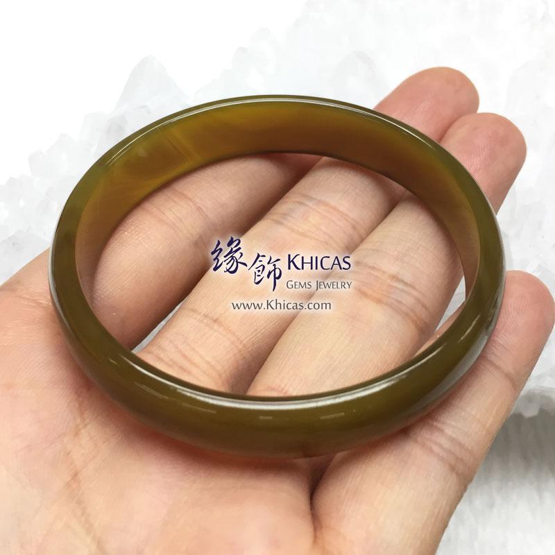 波斯灣瑪瑙手鐲 11.5x4.5mm Botswana Agate KH143161 @ Khicas Gems 緣飾
