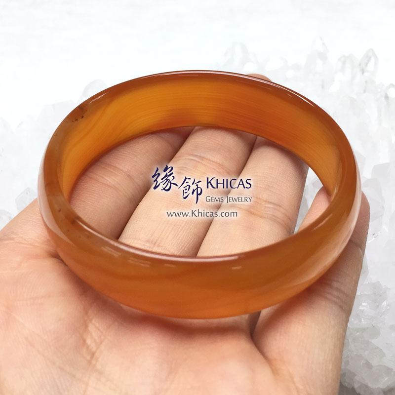 波斯灣瑪瑙手鐲 16x5mm Botswana Agate KH143162 @ Khicas Gems 緣飾