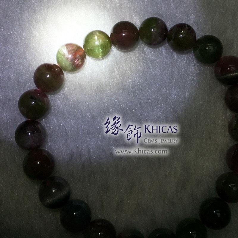 巴西 5A+ 西瓜碧璽手串 8.3mm Watermelon Tourmaline KH143171 @ Khicas Gems 緣飾