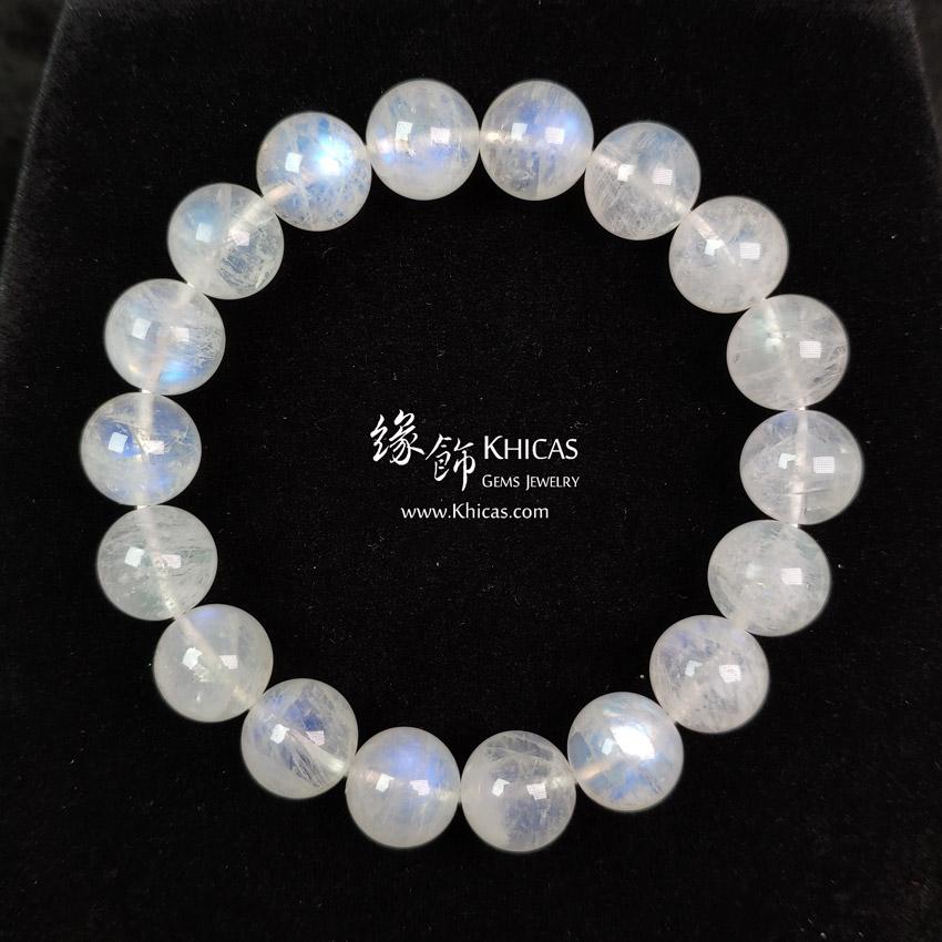 巴西 4A+ 月亮石手串 10.5mm MoonStone Bracelet KH143188 @ Khicas Gems Jewelry 緣飾天然水晶