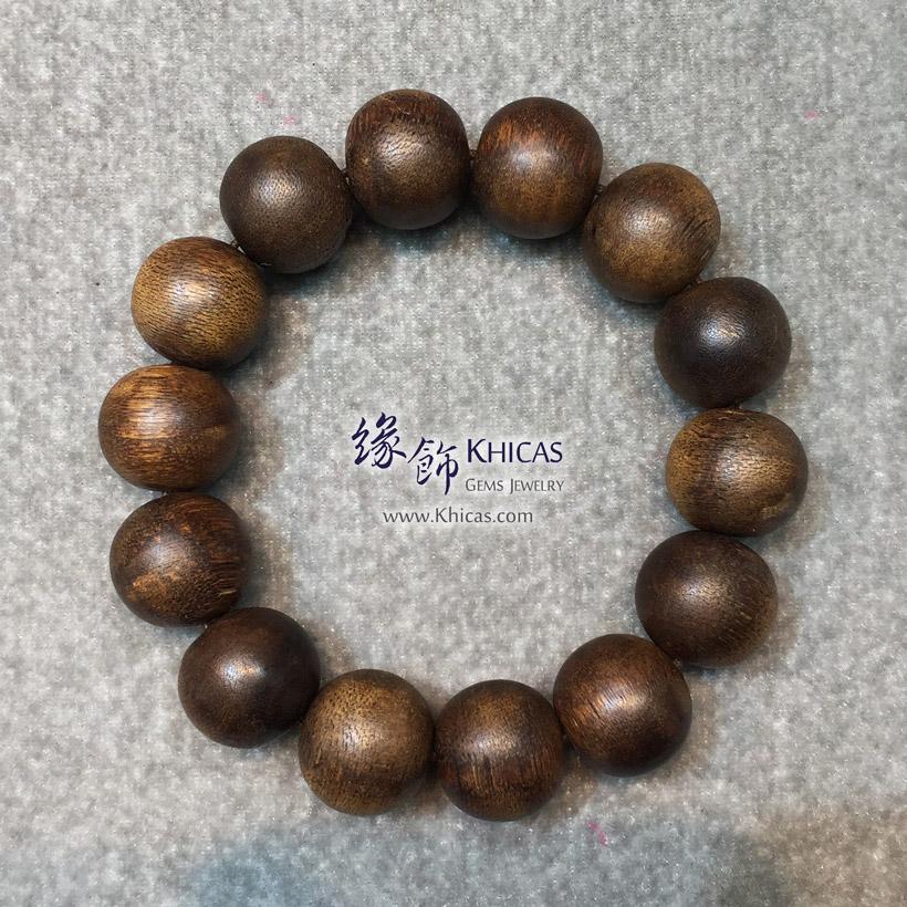 印尼加里曼丹沉香圓珠手串 18mm Agilawood KH143317 @ Khicas Gems Jewelry 緣飾天然水晶