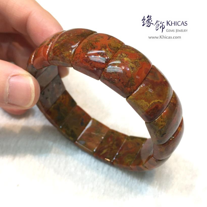 戰國紅瑪瑙手排 ~18mm Red Agate KH143774 @ Khicas Gems Jewelry 緣飾天然水晶