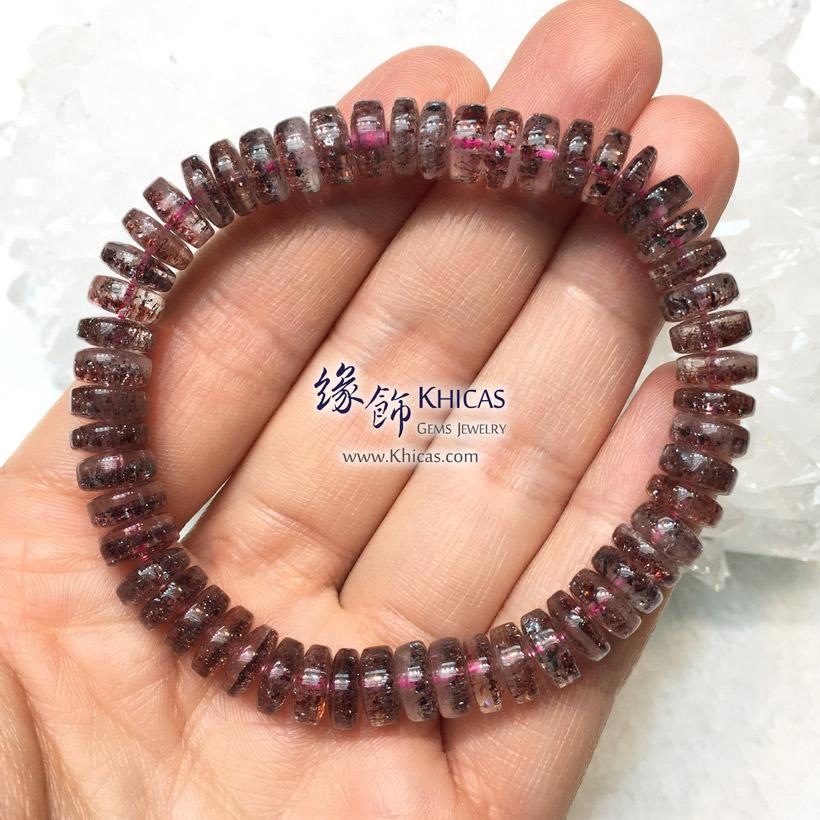 巴西 3A+ 超級七 / 三輪骨幹 / Super 7 / 超七盤珠手串 8.3mm KH143854 @ Khicas Gems Jewelry 緣飾天然水晶