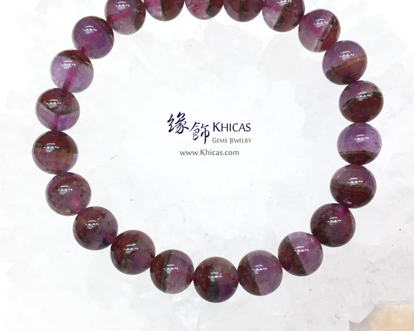 加拿大 4A+ Auralite 23 極光23水晶手串 8.5mm KH143951 @ Khicas Gems 緣飾