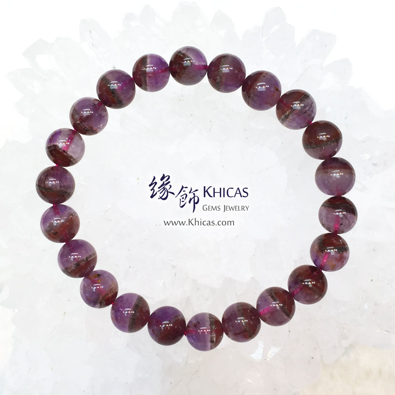 加拿大 4A+ Auralite 23 極光23水晶手串 8.8mm KH143952 @ Khicas Gems 緣飾