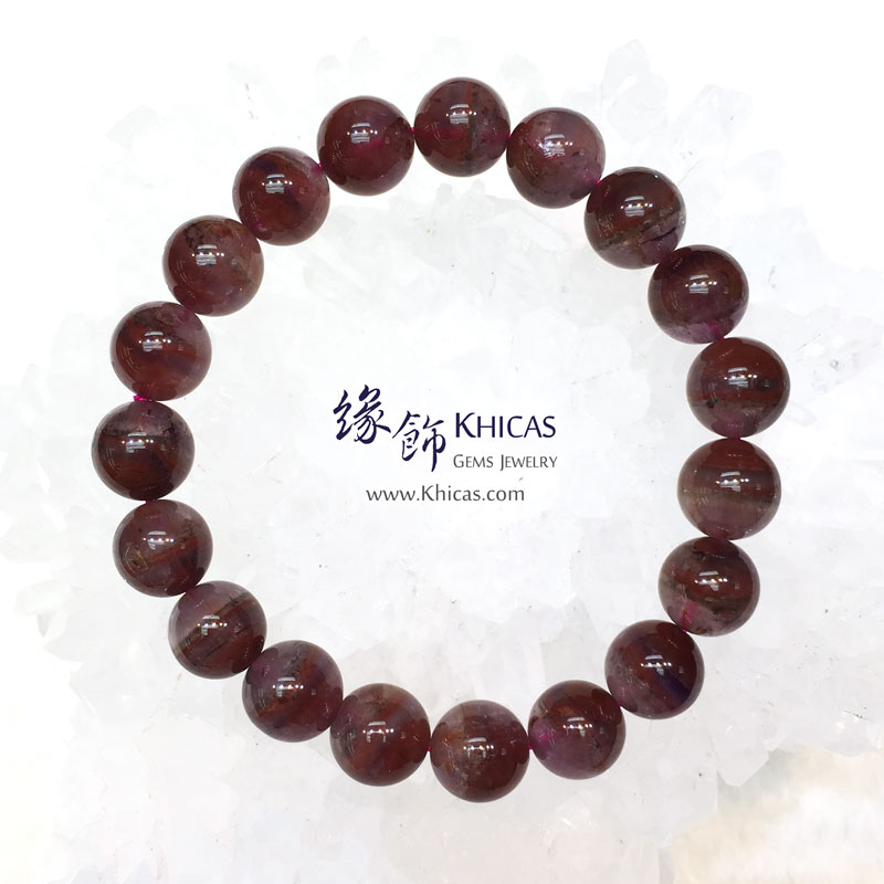 加拿大 4A+ Auralite 23 極光23水晶手串 10mm KH143953 @ Khicas Gems 緣飾