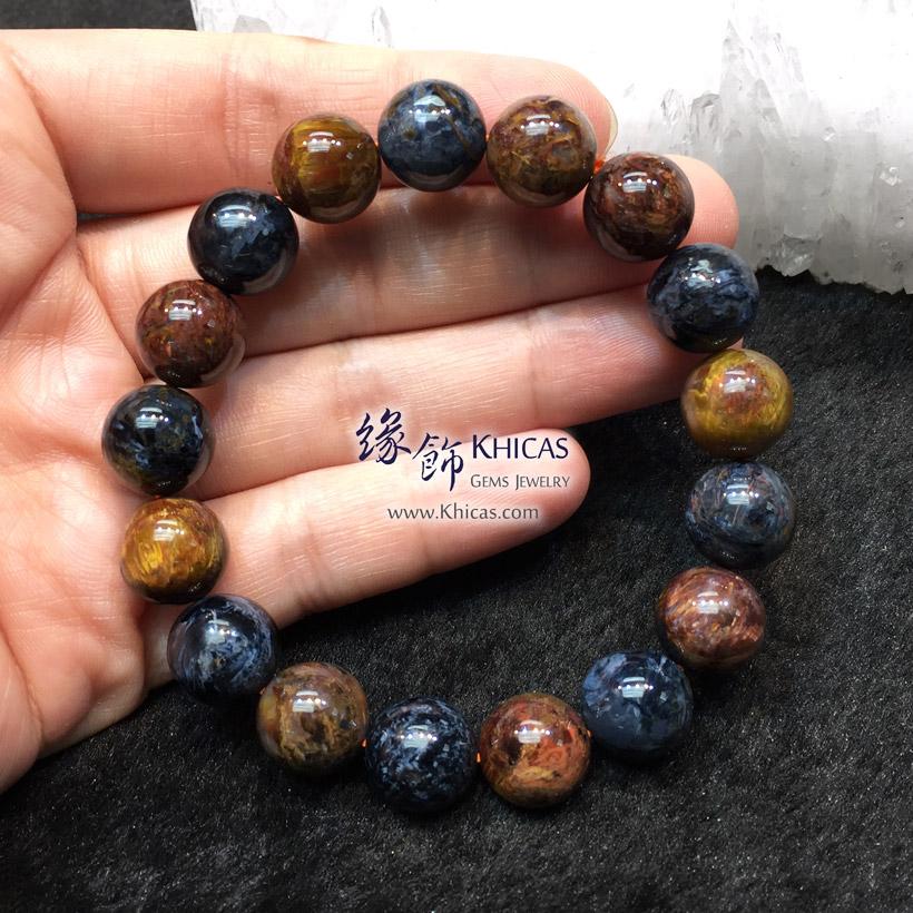 納米比亞 5A+ 藍金色彼得石手串 12mm Pietersite KH144176 @ Khicas Gems Jewelry 緣飾天然水晶