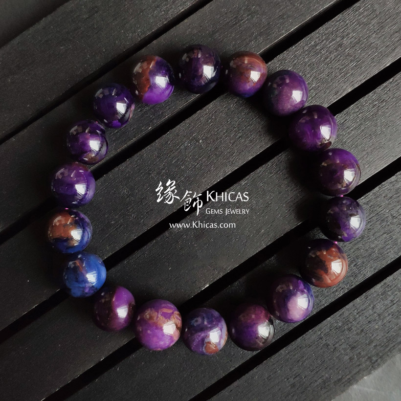 南非 5A+ 紫色舒俱徠手串 11.5mm South Africa Sugilite Bracelet KH144675 @ Khicas Gems Jewelry 緣飾天然水晶