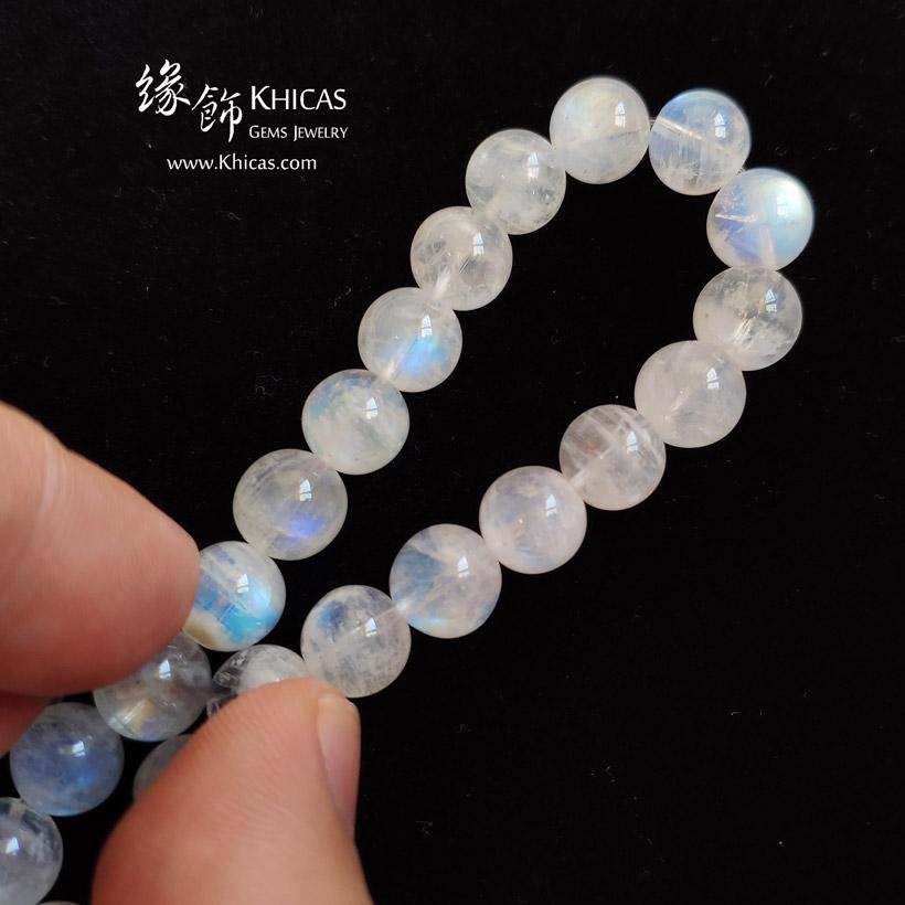 巴西 5A+ 月亮石手串 8.8mm MoonStone Bracelet KH145404-1 @ Khicas Gems Jewelry 緣飾天然水晶