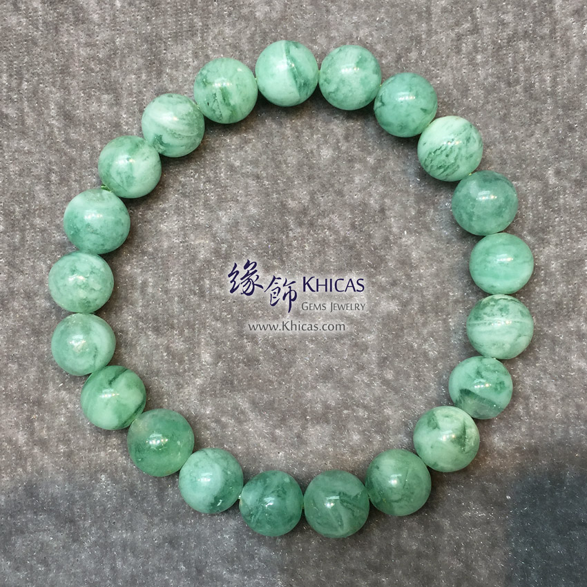 阿根廷 5A+ 綠紋石手串 9mm Green Calcite Bracelet KH146491 @ Khicas Gems Jewelry 緣飾天然水晶