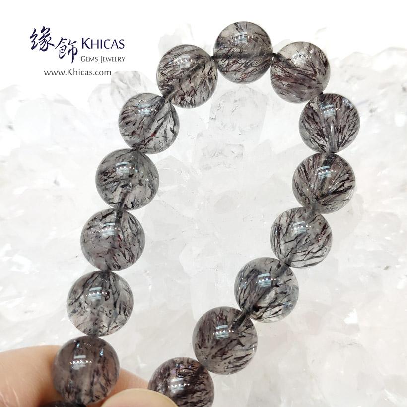 巴西 4A+ 黑超級七 / Super7 / 三輪骨幹手串 11.8mm KH146507 @ Khicas Gems Jewelry 緣飾天然水晶