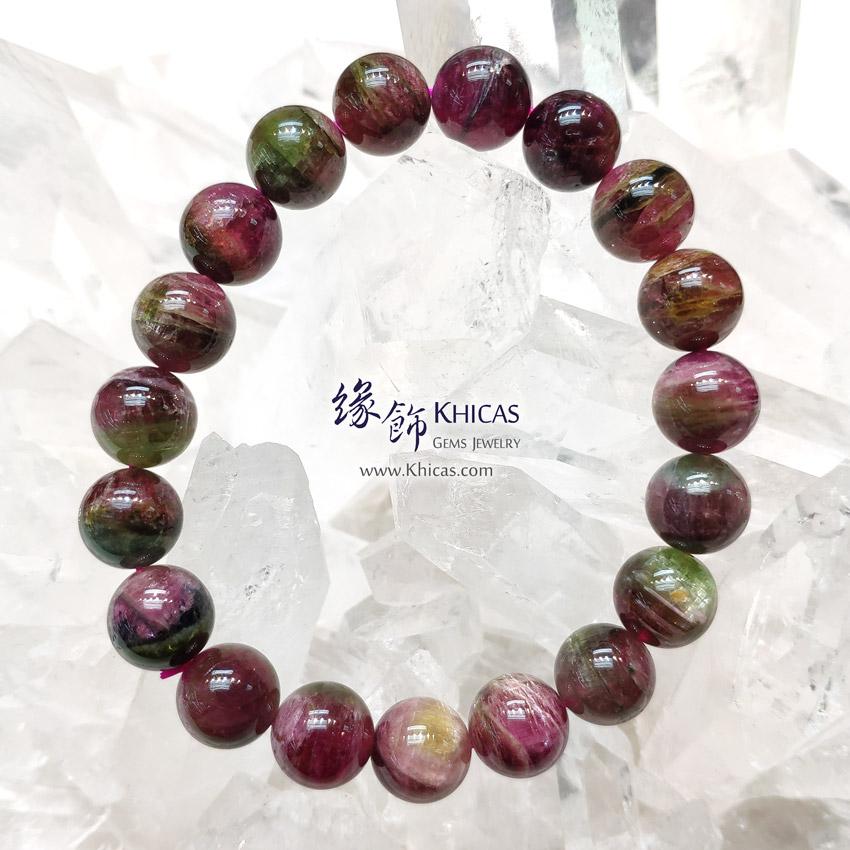 巴西 5A+ 西瓜碧璽 / 碧茜 / 電氣石手串 10mm Watermelon Tourmaline Bracelet KH146846 @ Khicas Gems Jewelry 緣飾天然水晶