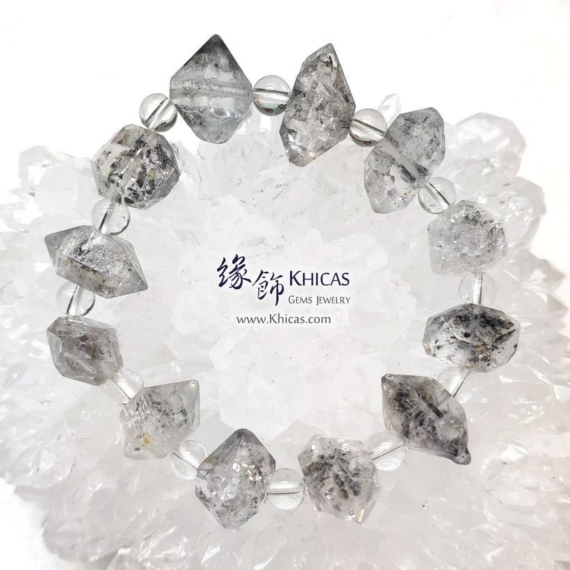 閃靈鑽原石手串 Herkimer Diamond Bracelet KH146922 @ Khicas Gems Jewelry 緣飾天然水晶