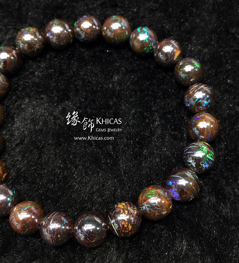 澳洲 5A+ 澳寶(蛋白石)手串 8mm+/- Opal Bracelet KH147024 @ Khicas Gems Jewelry 緣飾天然水晶