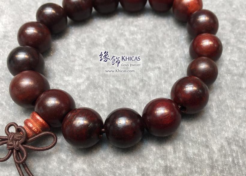 印尼檀香木佛珠手串 12mm KH147353 @ Khicas Gems Jewelry 緣飾天然水晶