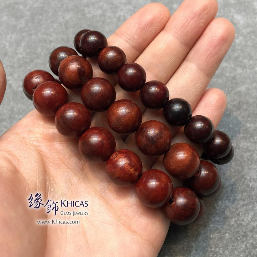 印尼檀香木佛珠手串 @ Khicas Gems Jewelry 緣飾天然水晶
