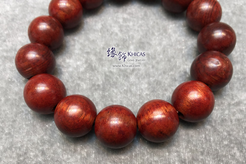 印尼檀香木佛珠手串 15mm KH147354 @ Khicas Gems Jewelry 緣飾天然水晶