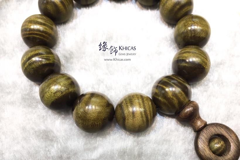四川陰沉金絲楠木特大佛珠手串 18mm KH147462 @ Khicas Gems Jewelry 緣飾天然水晶