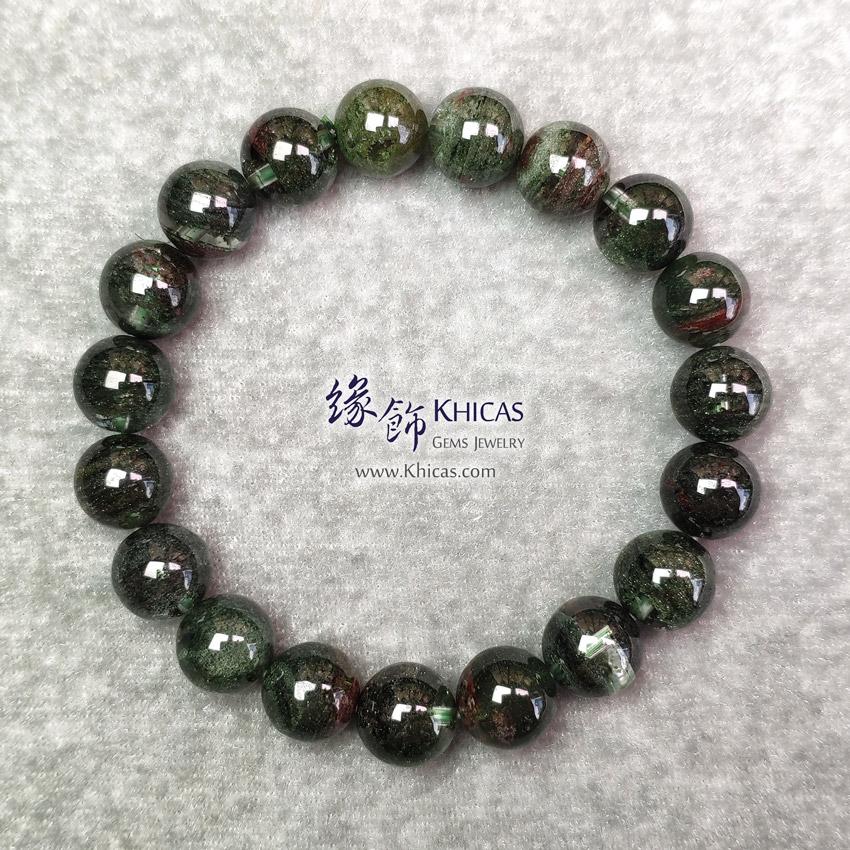 巴西 4A+ 綠幽靈手串 10mm+/- Green Phantom Bracelet KH148221 @ Khicas Gems Jewelry 緣飾天然水晶