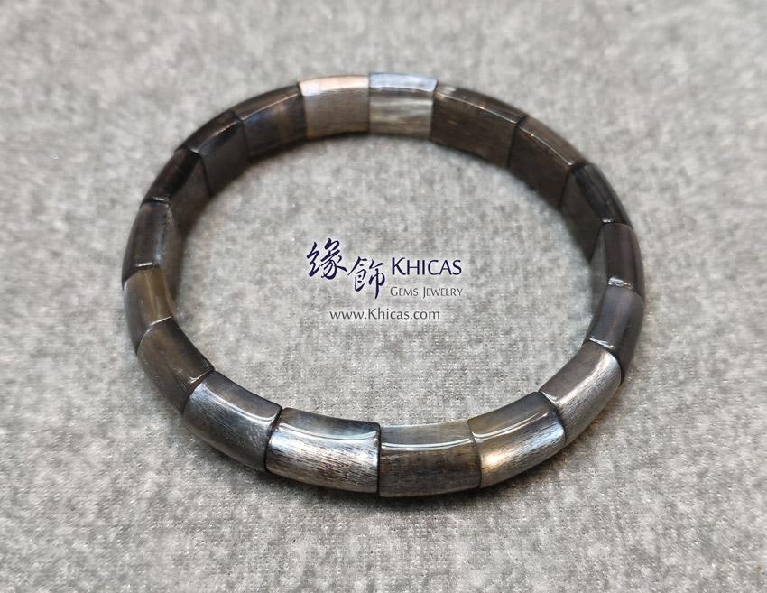 巴西 5A+ 黑太陽石手排 ~10x7mm Black Sun Stone Bracelet KH148342-2 @ Khicas Gems Jewelry 緣飾天然水晶