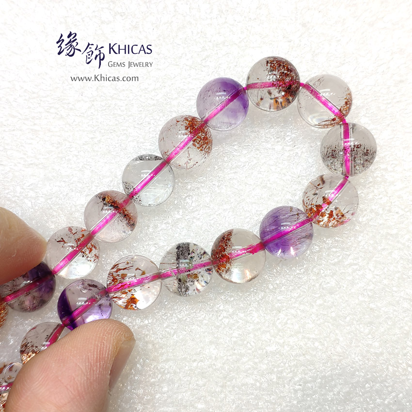 4A+ 巴西 超級七 / 三輪骨幹 / Super Seven / Super7 手串 11mm KH148404 @ Khicas Gems Jewelry 緣飾天然水晶