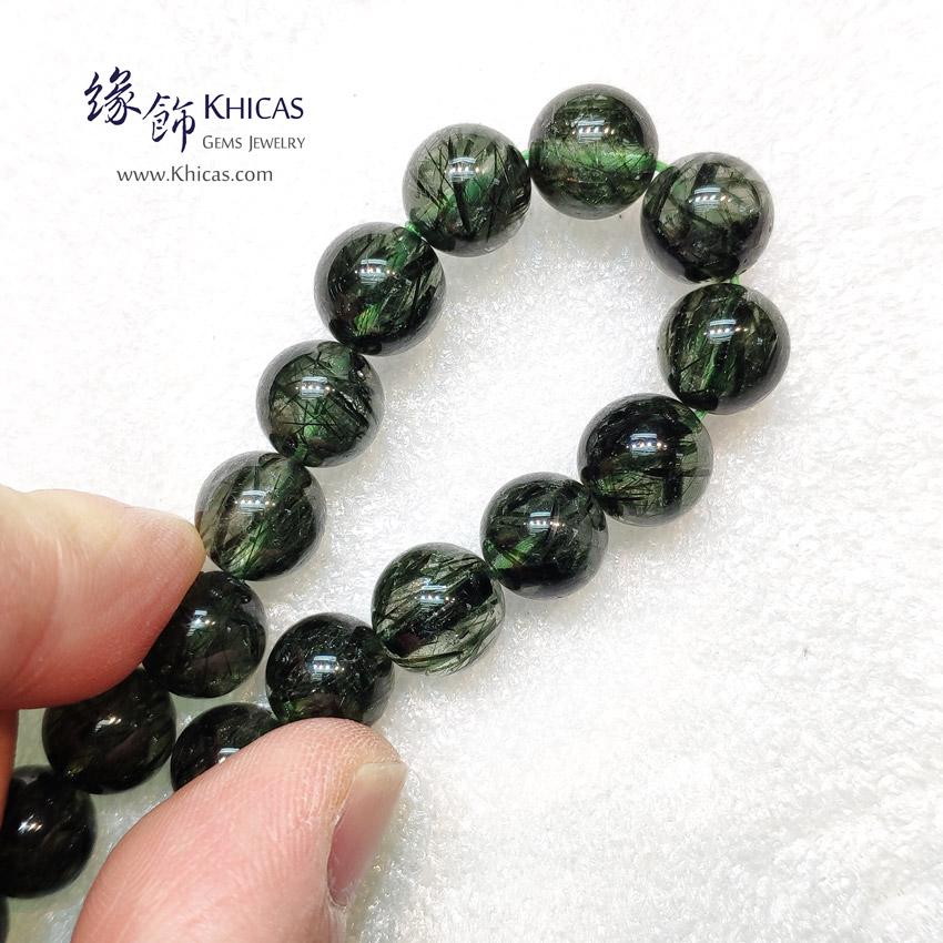 巴西 4A+ 粗髮綠髮晶手串 10mm Green Rutilated Quartz KH148950 @ Khicas Gems Jewelry 緣飾天然水晶