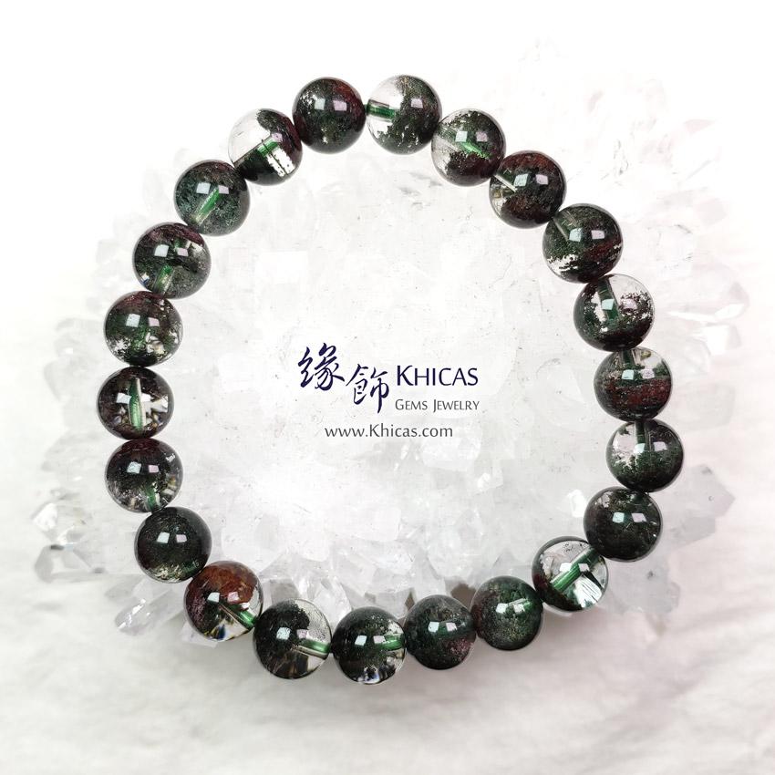 巴西 5A+ 綠幽靈聚寶盆手串 8.5mm Green Phantom Bracelet KH149418 @ Khicas Gems Jewelry 緣飾天然水晶