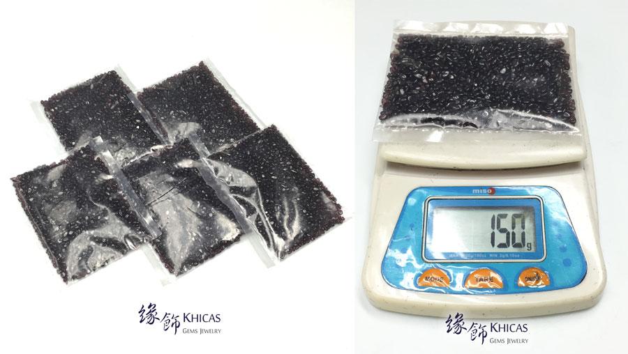 酒紅石榴石碎石 150g CHP150606 @ Khicas Gems 緣飾