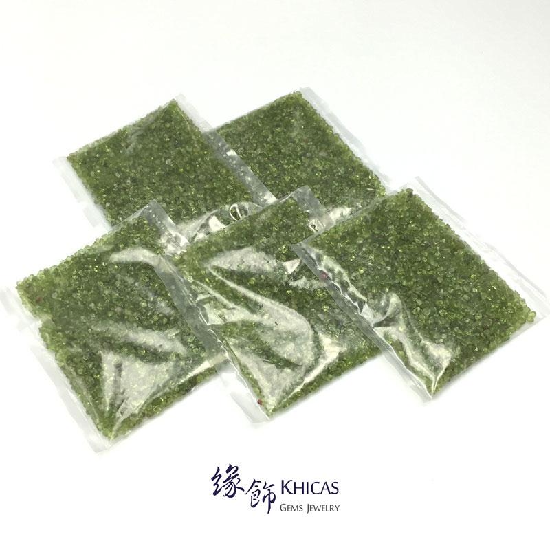 橄欖石碎石 150g CHP150608 @ Khicas Gems 緣飾