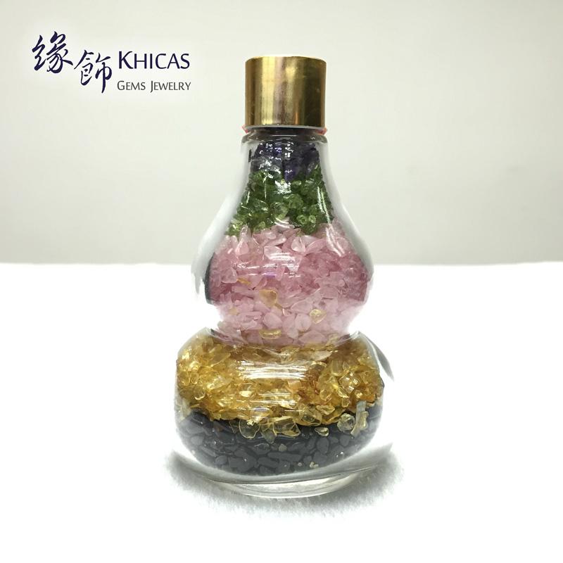 五晶碎石葫蘆形擺設 CHP150609 Khicas Gems 緣飾天然水晶