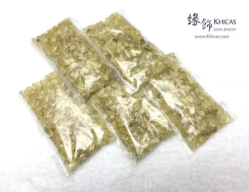 黃水晶碎石 150g Citrine CHP150610 @ Khicas Gems 緣飾