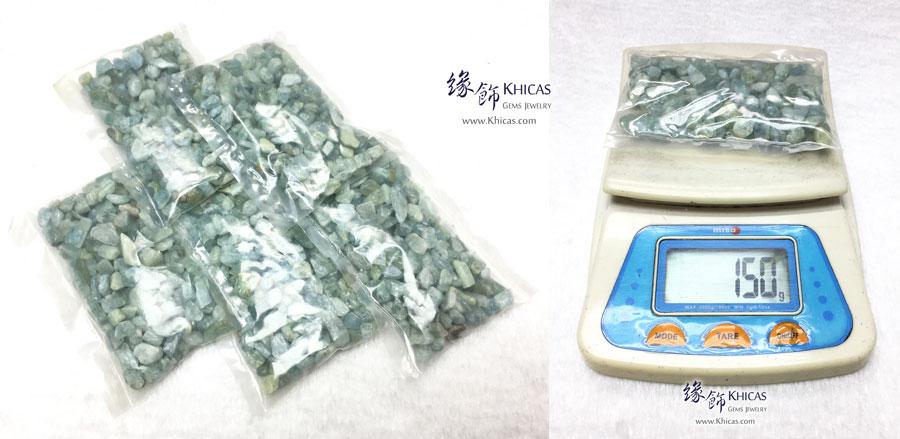 巴西海藍寶碎石 150g CHP150611 @ Khicas Gems 緣飾