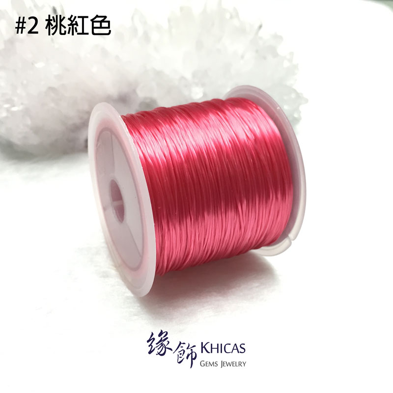彩色彈力水晶線 Colorful Crystal Lines @ Khicas Gems 緣飾