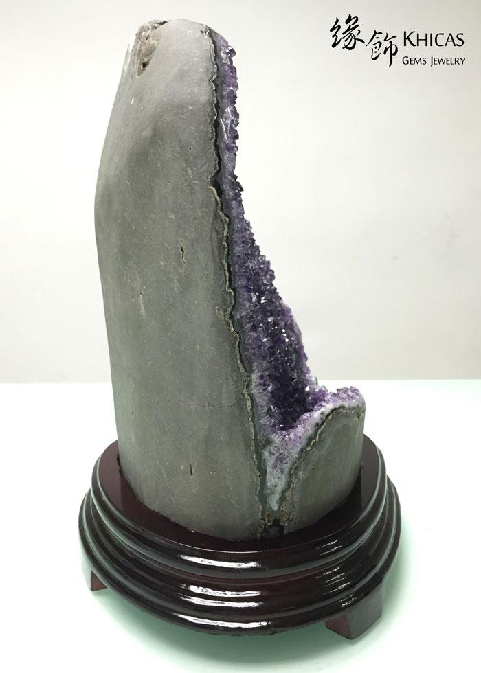 烏拉圭紫晶擺件 AF1535018 @ Khicas Gems 緣飾