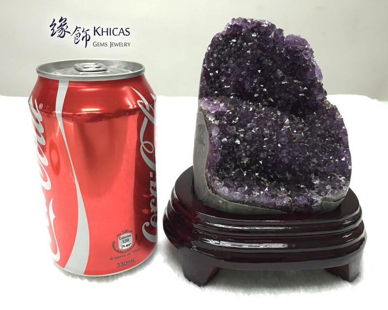烏拉圭紫晶花擺設 AF1535028 @ Khicas Gems 緣飾