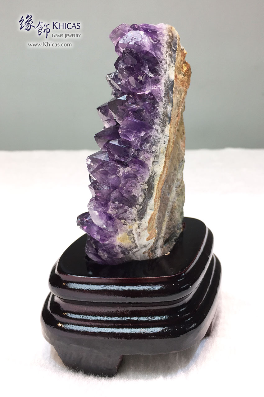 烏拉圭紫水晶花擺設 Amethyst Cluster Furnish AF1535037 @ Khicas Gems 緣飾